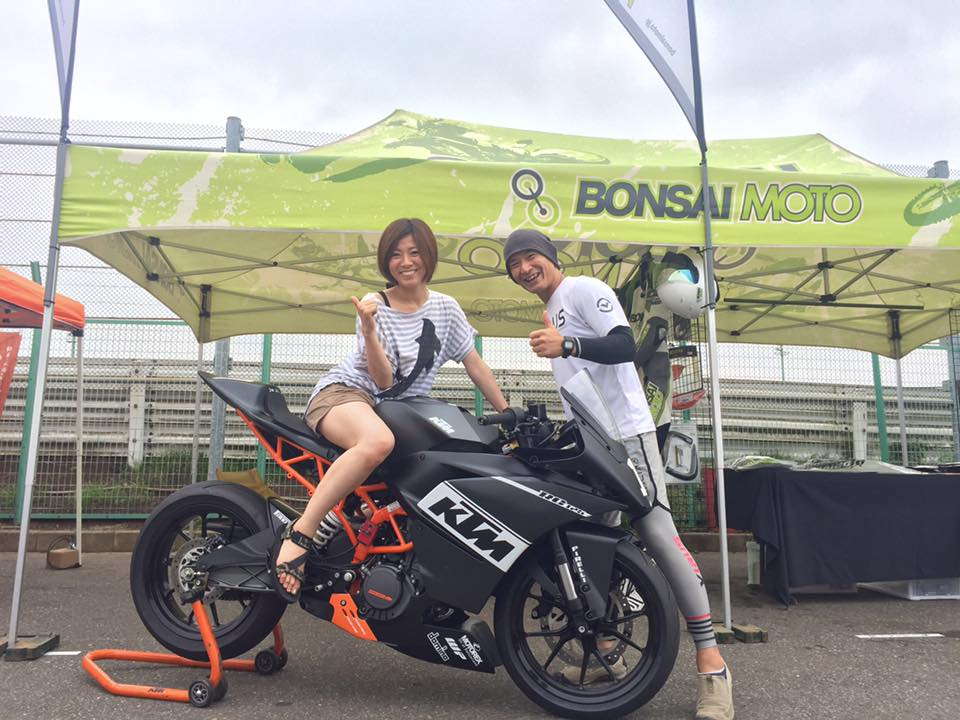 KTMオレンジフェスティバル・ストリートレポート!