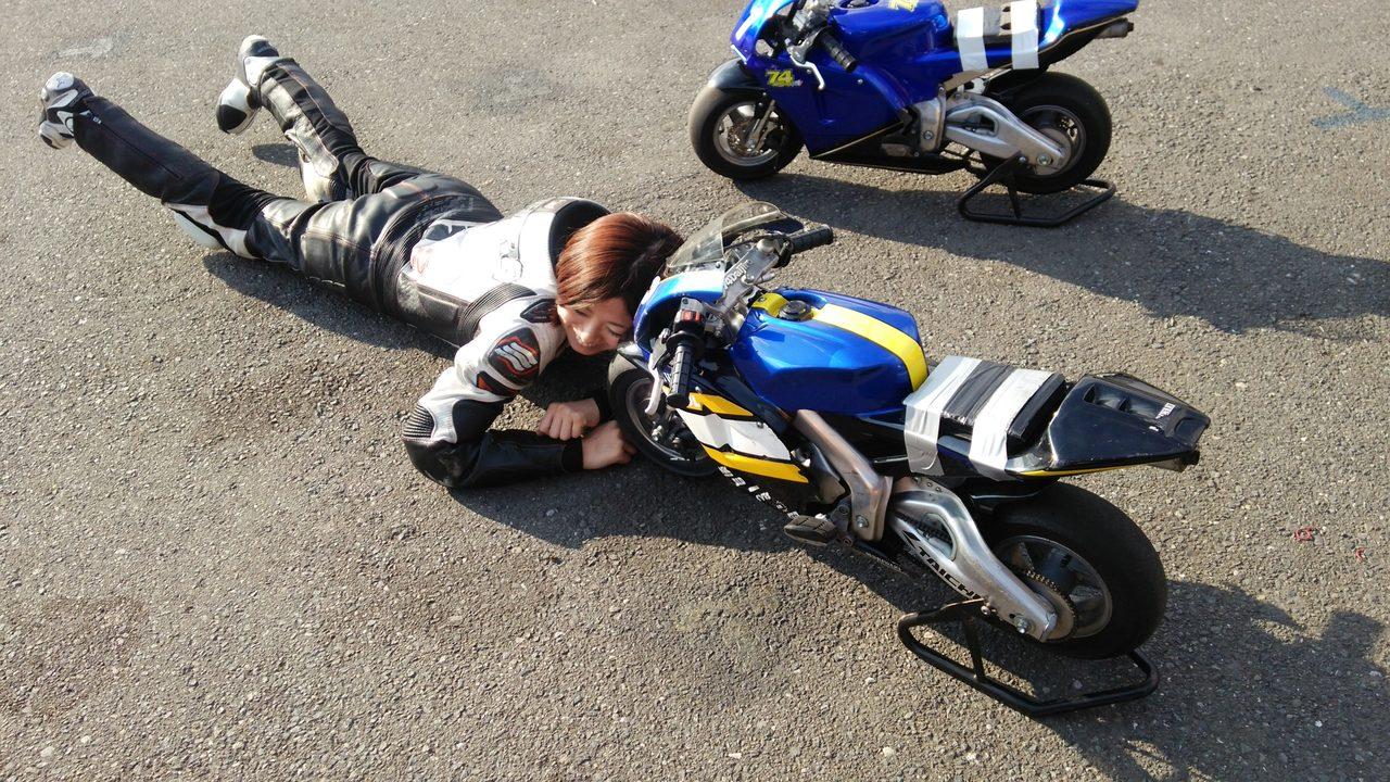 74Daijiro スーパーミニバイク 秋ヶ瀬チャレンジカップ2016参戦レポート