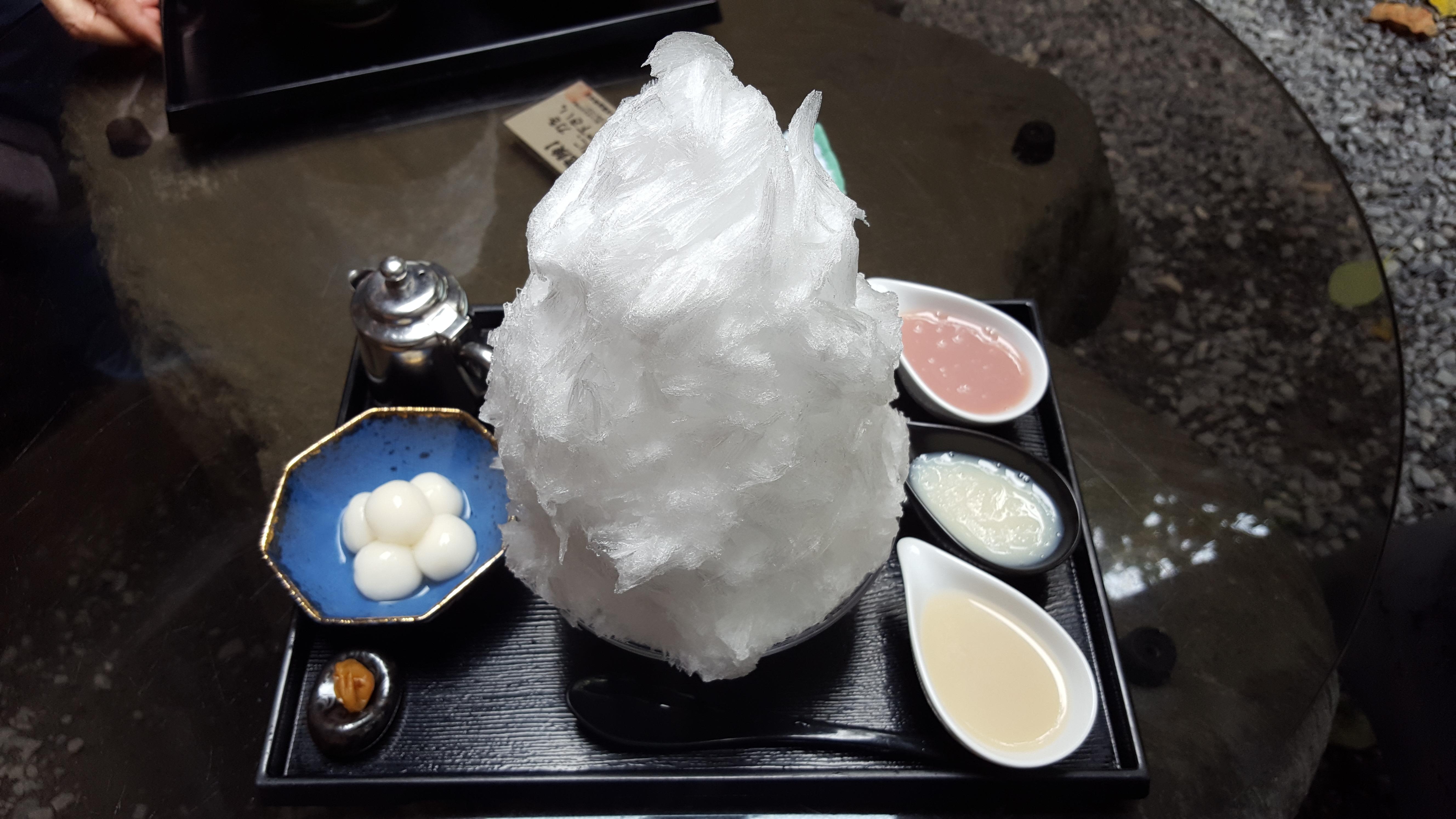 かき氷を求めて。