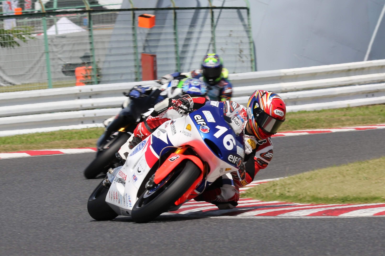 全日本ロードレース選手権Rd.5公式予選・ヒート1レポート