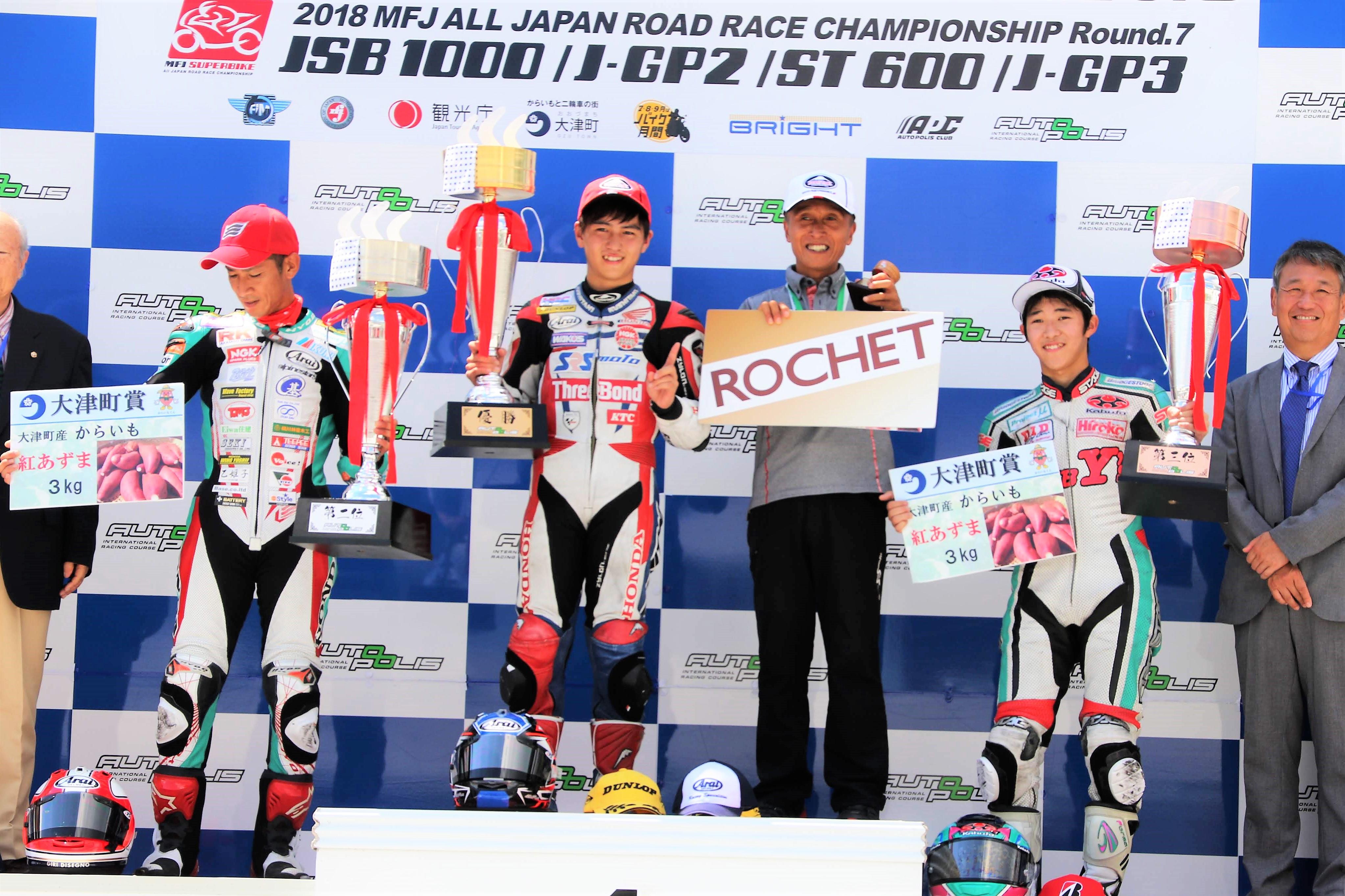 全日本ロードレース選手権Rd.7 決勝レポート