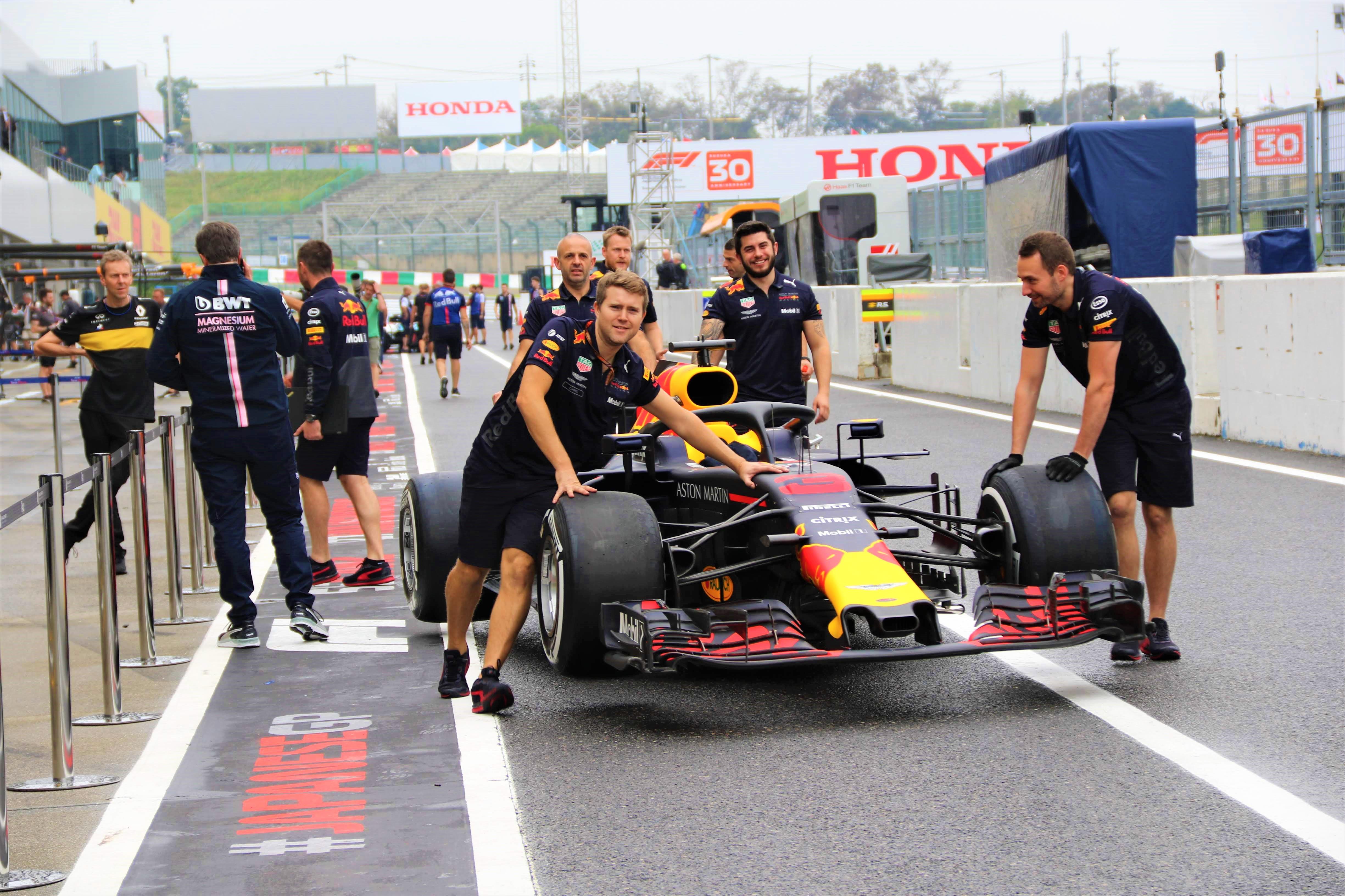 F1日本グランプリに行ってみた。