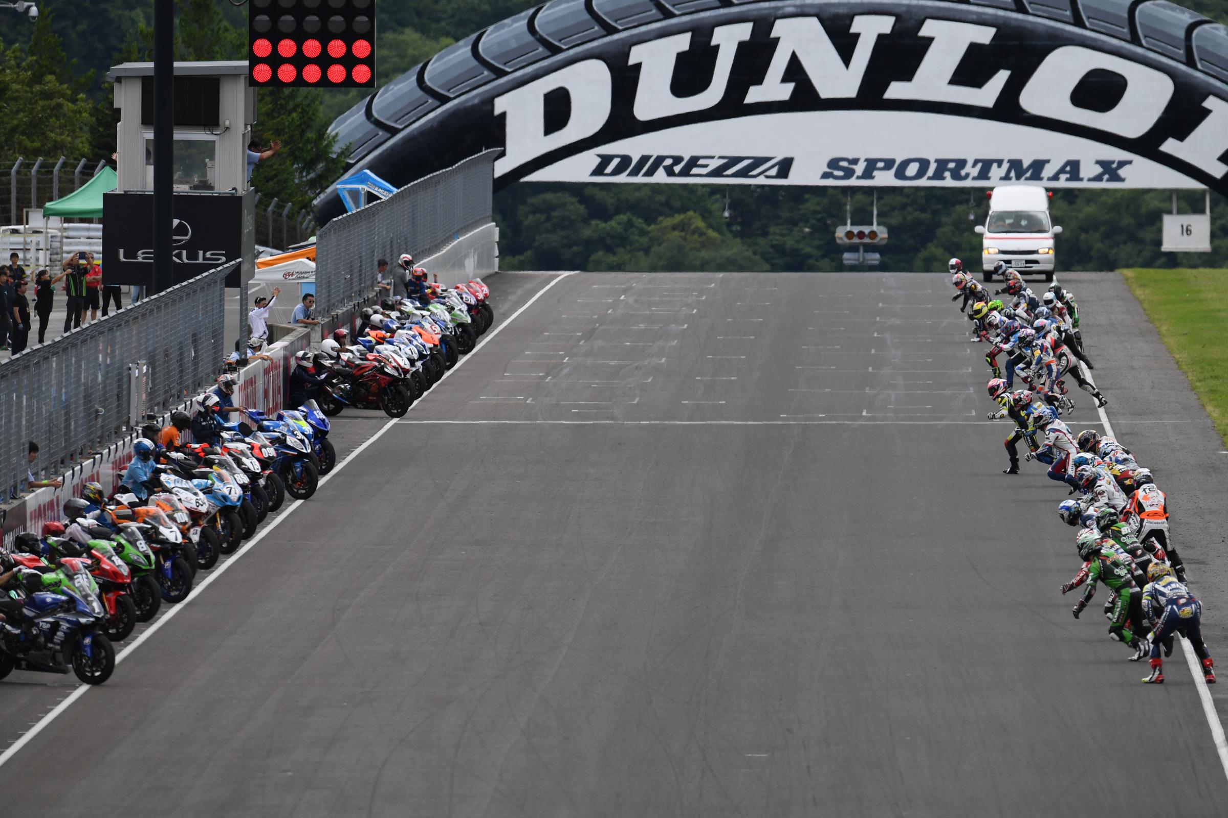 2016MFJ全日本ロードレース選手権Rd.5スポーツランドSUGOレポート