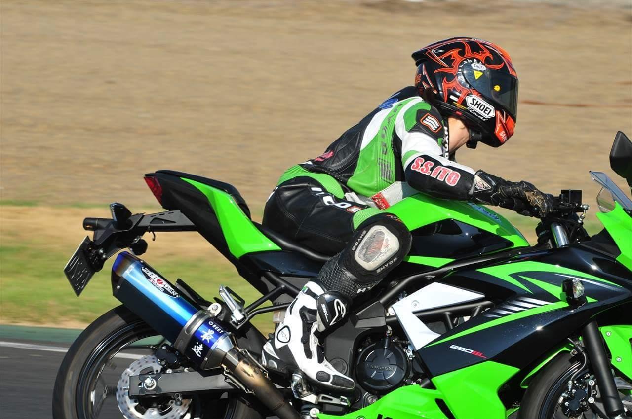 Kawasaki 【Ninja 250SL】インプレッション