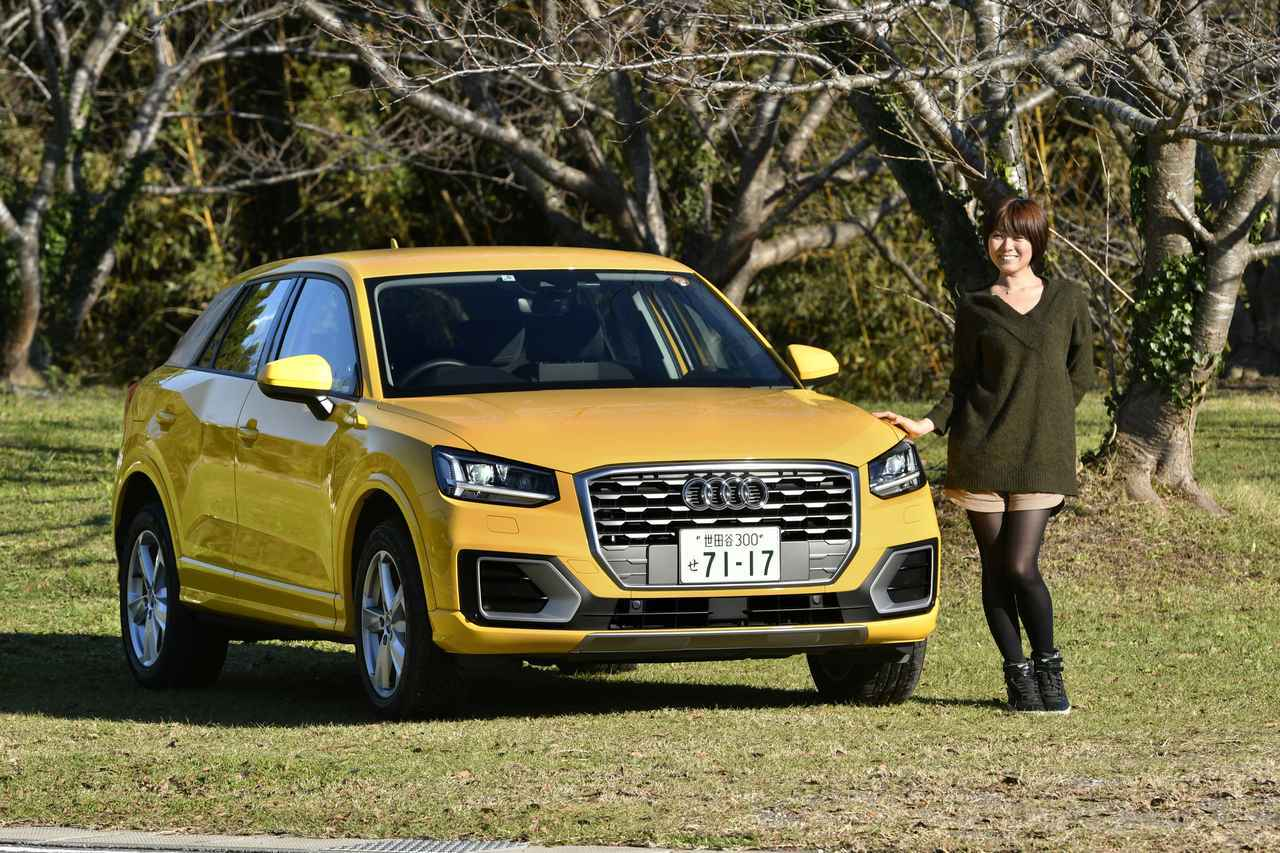 Audi Q2 1.0TFSIスポーツインプレッション