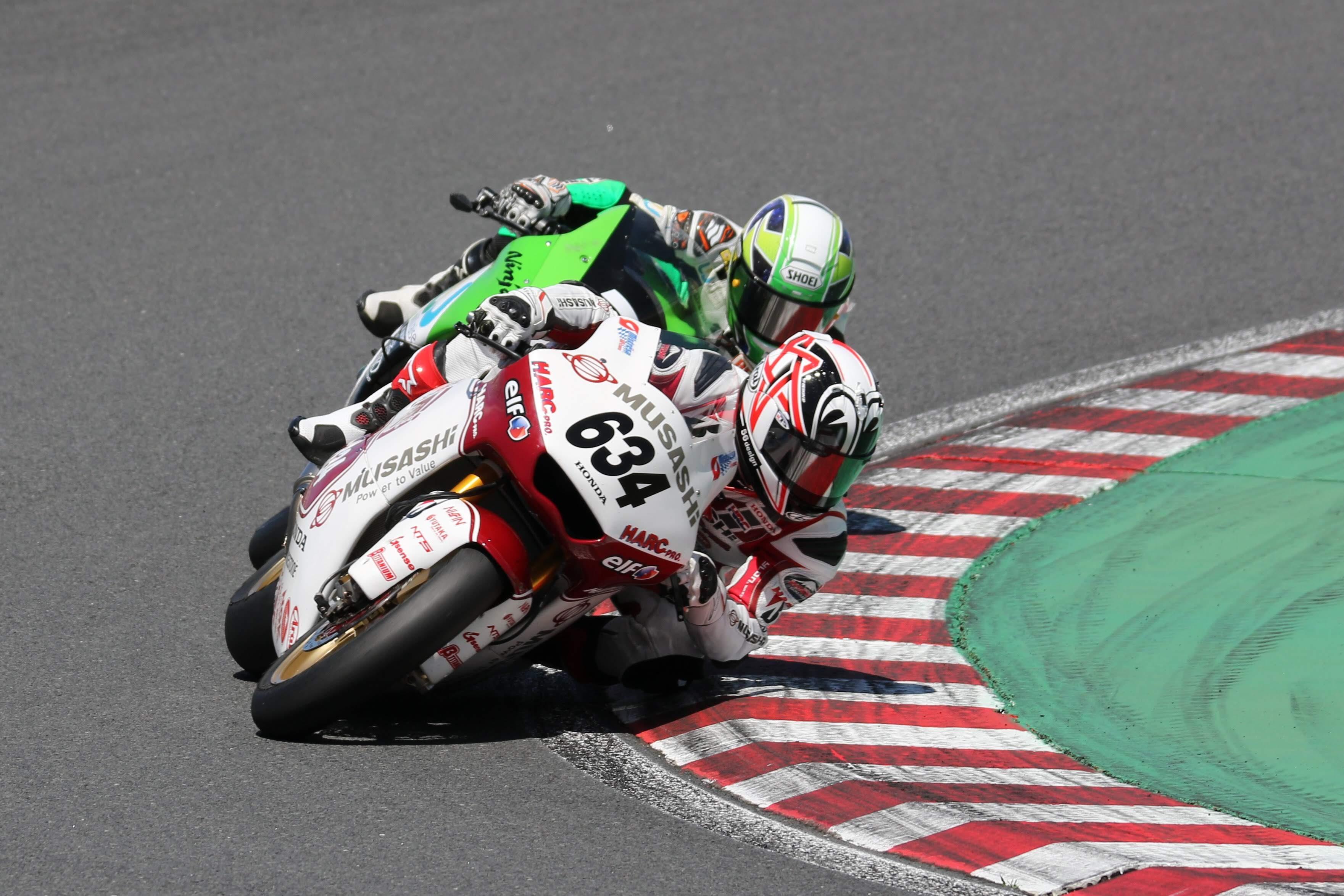 全日本ロードレース選手権Rd.5決勝レースヒート2レポート
