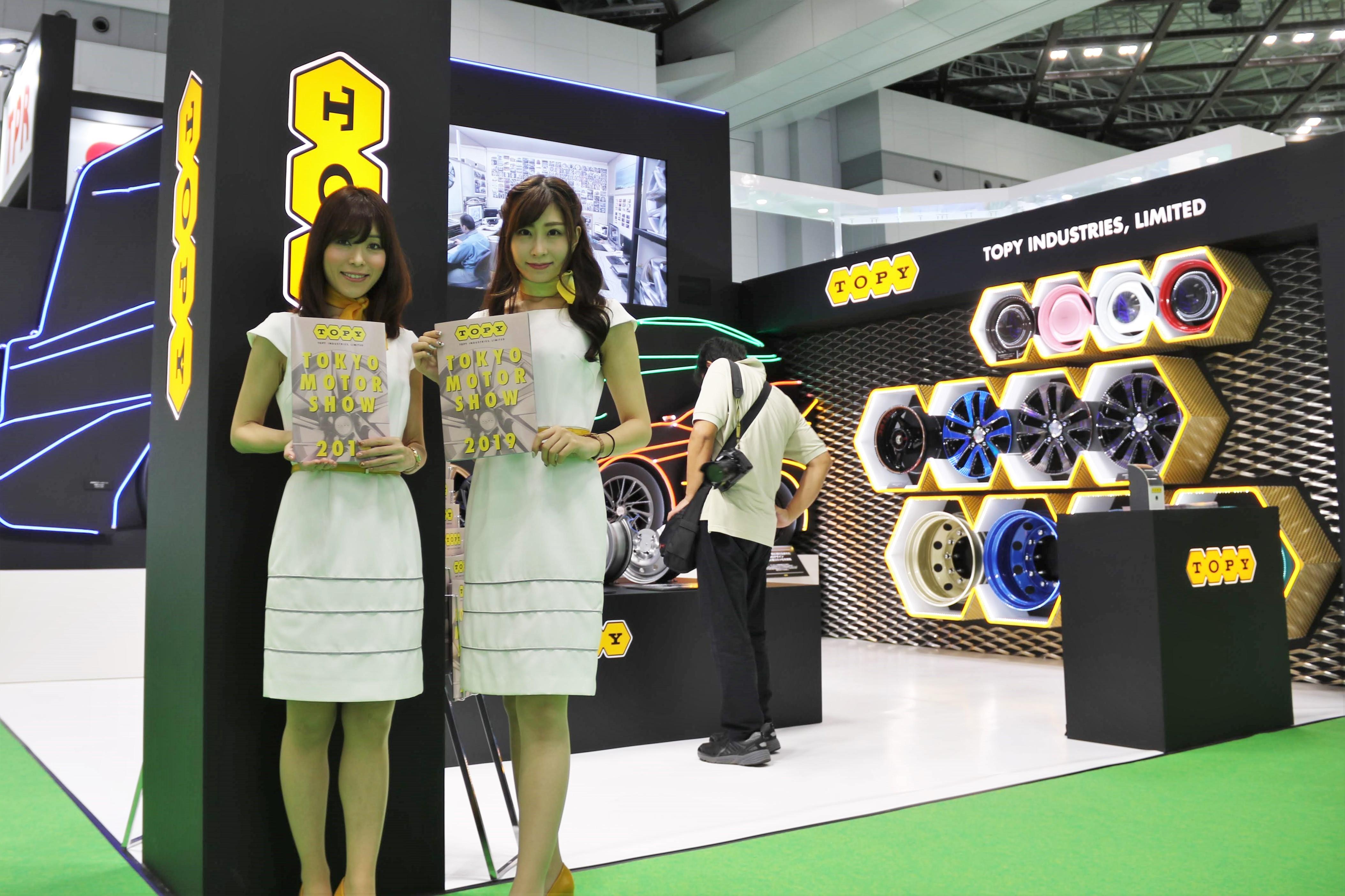 トピー工業、アルミ&スチールホイールの最新技術を展示…東京モーターショー2019