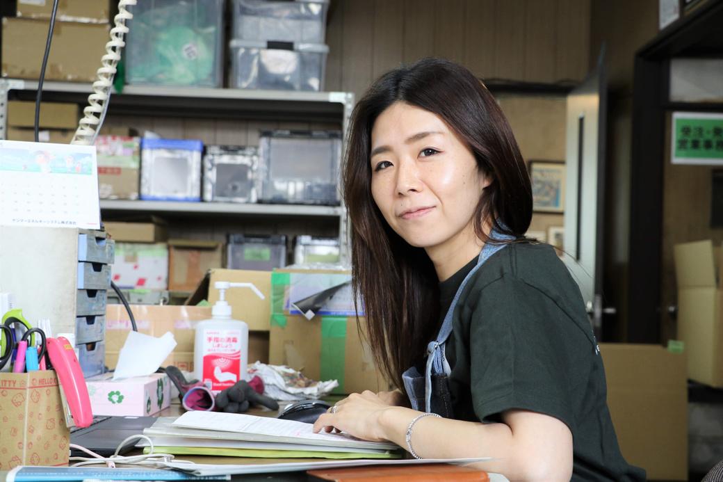 先川知香さんが観たiBのほんとうの姿 第4回工チーフフロント 秋場 久留実(あきば くるみ)さん
