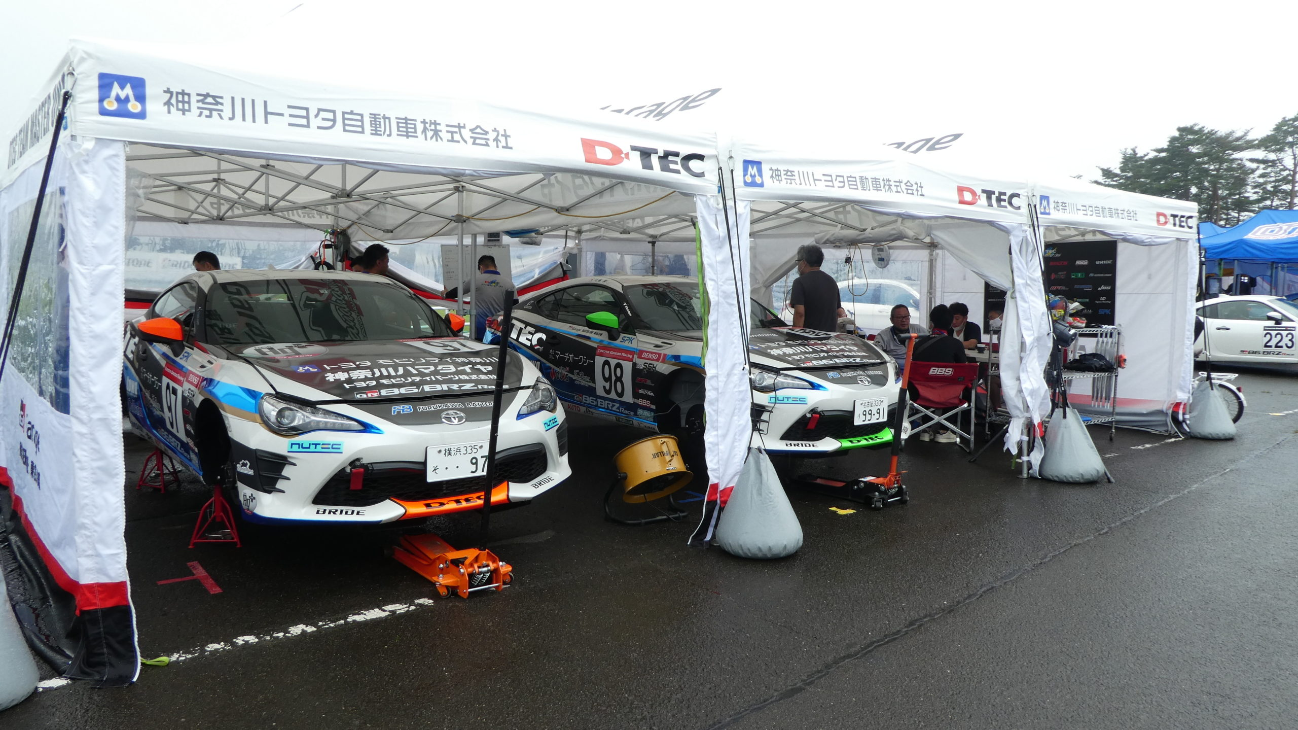 86/BRZ Race2020 第5戦 スポーツランドSUGO神奈川トヨタ DTEC TEAM MASTER ONE