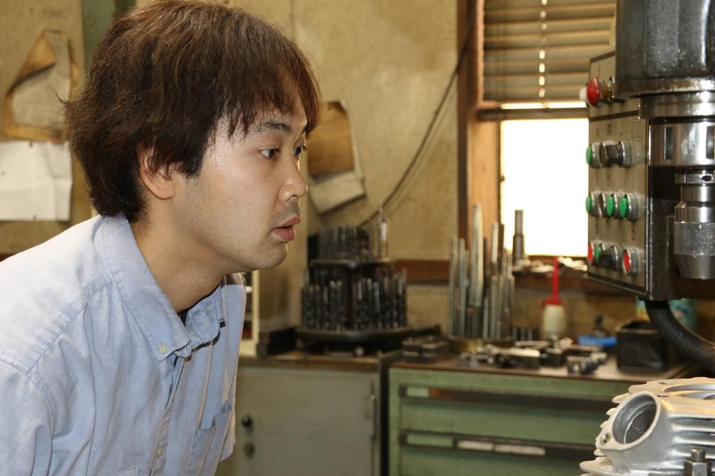 先川知香さんが観たiBのほんとうの姿 第6回 治具ボーラー担当 森田 裕一(もりた ゆういち)さん