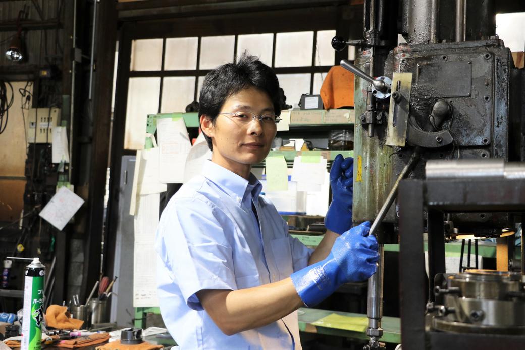 先川知香さんが観たiBのほんとうの姿 第8回 ホーニング担当 吉岡 拓図(よしおか たくと)さん