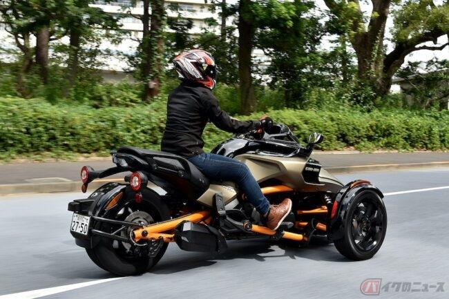 3輪バイクの魅力を教えてくれたモデル! BRP「can-am Spyder F3-S」