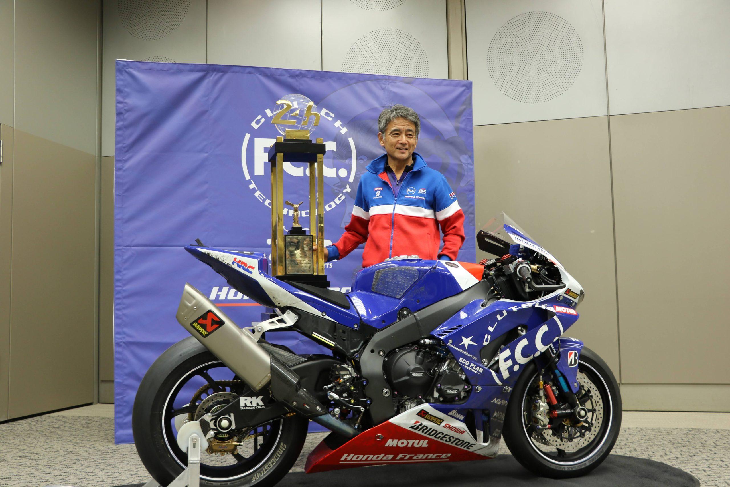 ルマン24時間優勝! F.C.C. TSR Honda France 藤井正和総監督コロナ禍の想い「来年は鈴鹿で戦いたい」